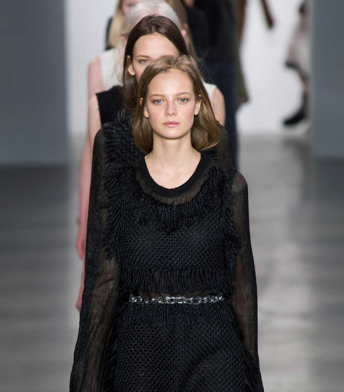 Calvin Klein Show Fall/Winter 2014 Collection During New York Fashion Week