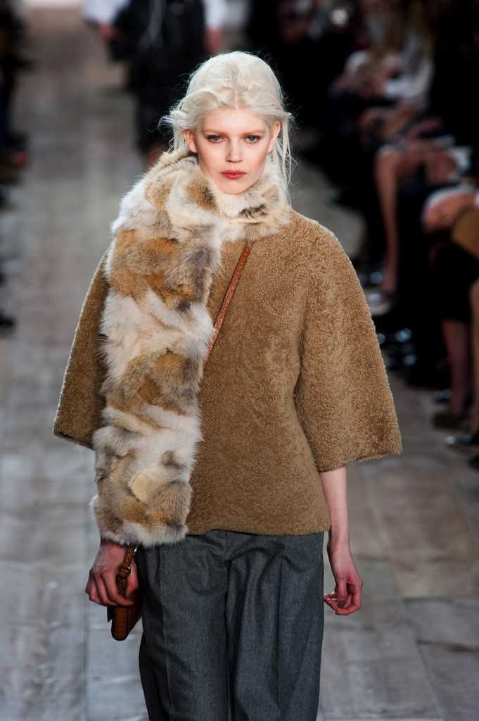 Michael Kors Shows Fall/Winter 2014 during New York Fashion Week