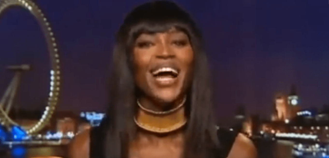 Naomi Campbell's reaction to Kim and Kanye's Vogue Cover - PRICELESS!