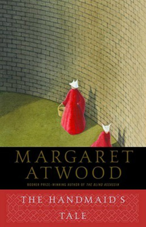 """Cover of """"The Handmaid's"""" Tale by Margaret Atwood. Photo via Turtleneck Books"""