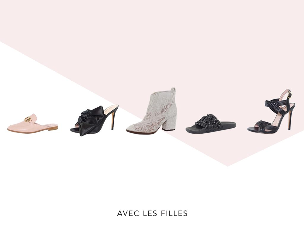 Shoes by Avec Les Filles / Courtesy Photo via WWD