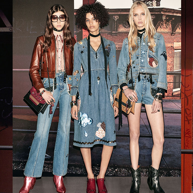 Coach Resort 2019 Gives Rise To Western Glam Grunge Styleft Style