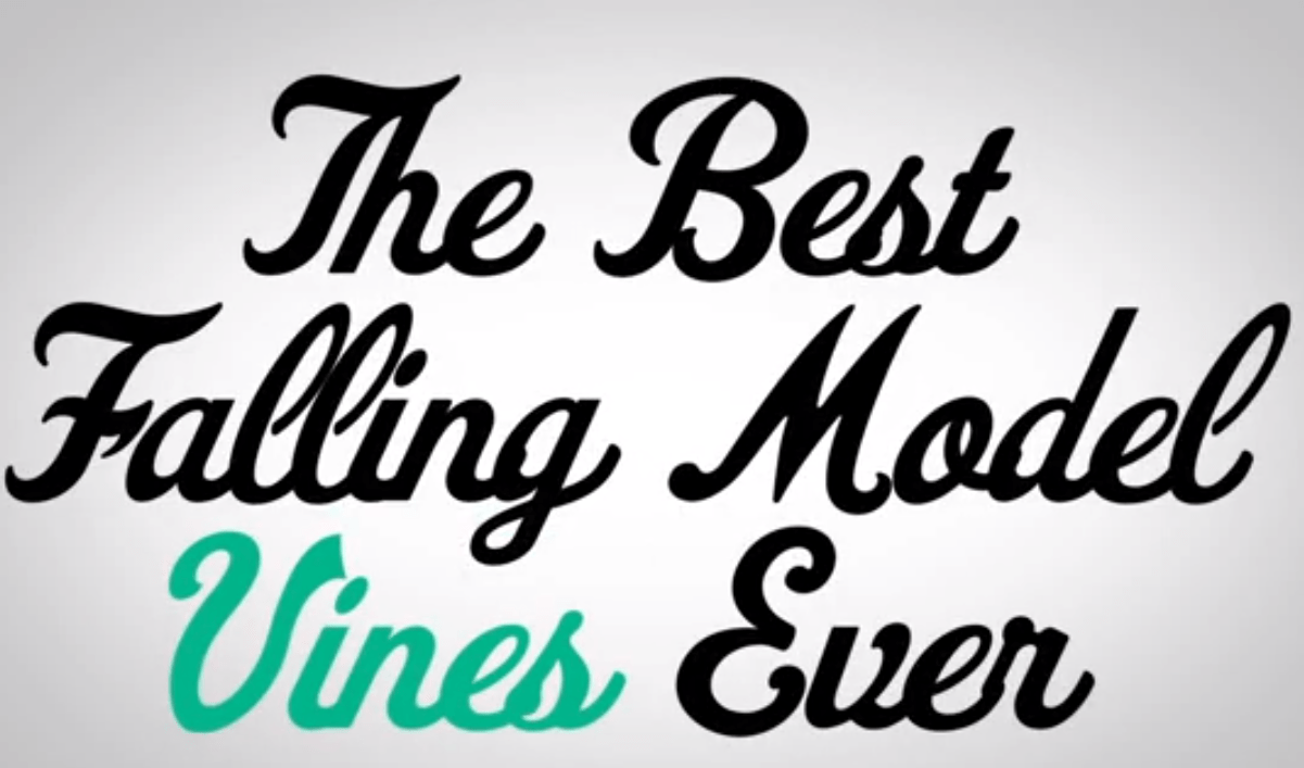 The best falling model vines ever