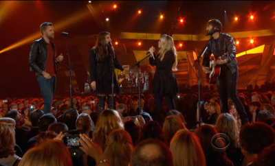 Lady Antebellum and Stevie Nicks live ACM Awards 2014_styleFT