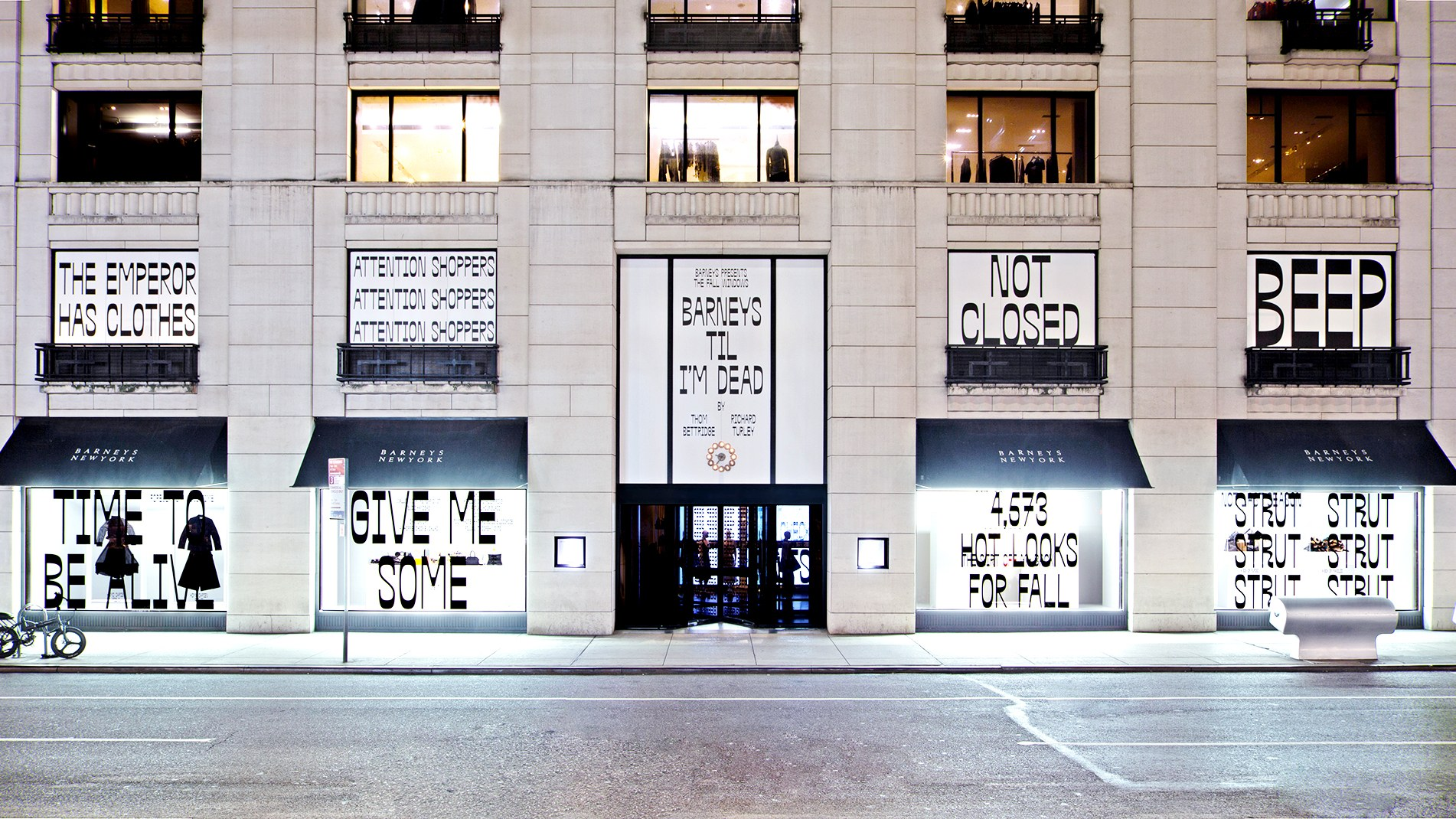 Barneys' Windows