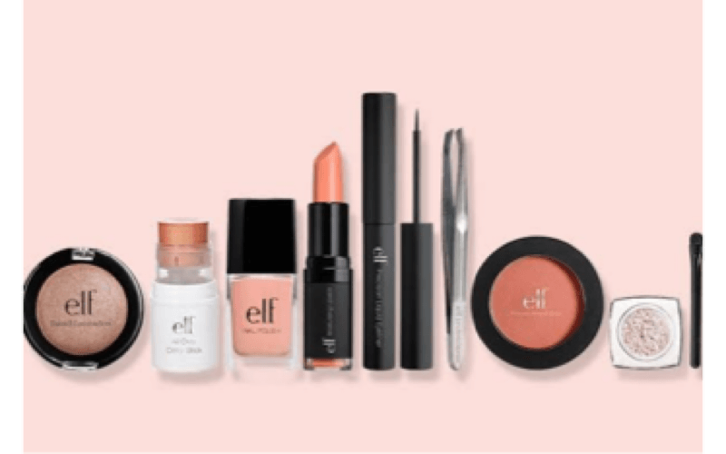 Affordable makeup brand (E.L.F)