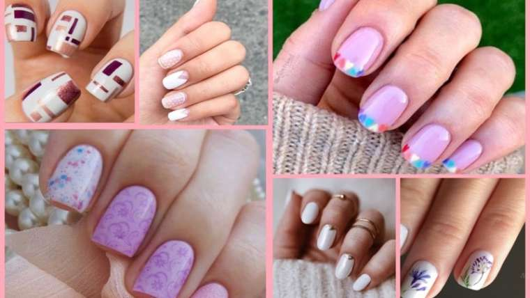 Nail art designs fir summers