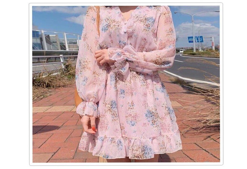 Floral Dress for Summers