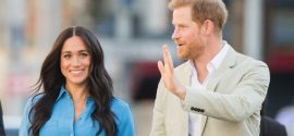 Meghan Markle Prepares a Cake to Acknowledge COVID-19 Response Workers