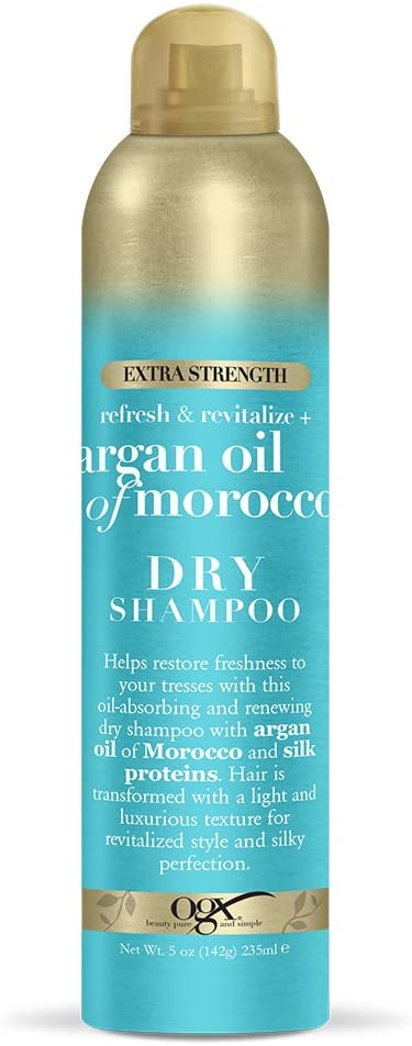 Dry Shampoo From Argan Oil Of Morocco