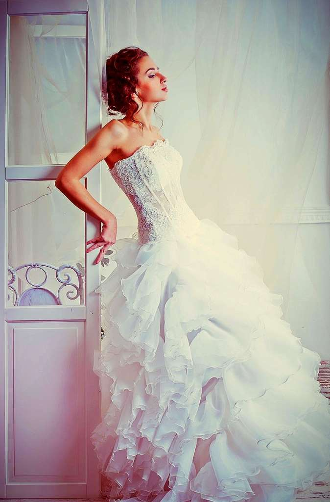 Wedding Gown with Corset