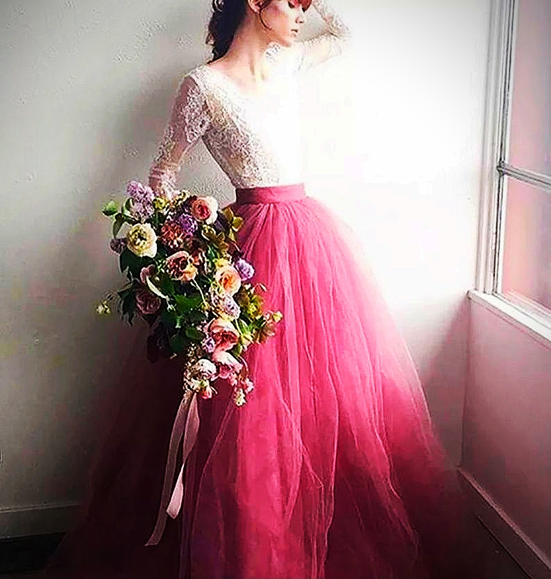 Pink Bohemian Gown