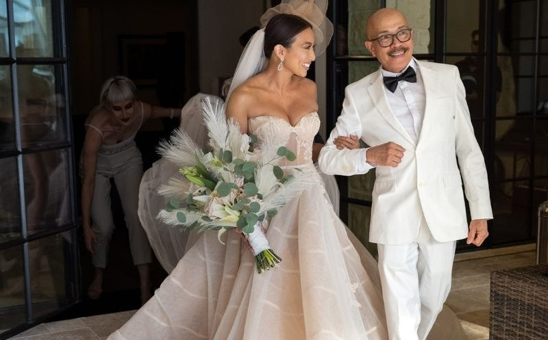 Moments from Jeezy and Jeannie Mai's loving wedding ceremony
