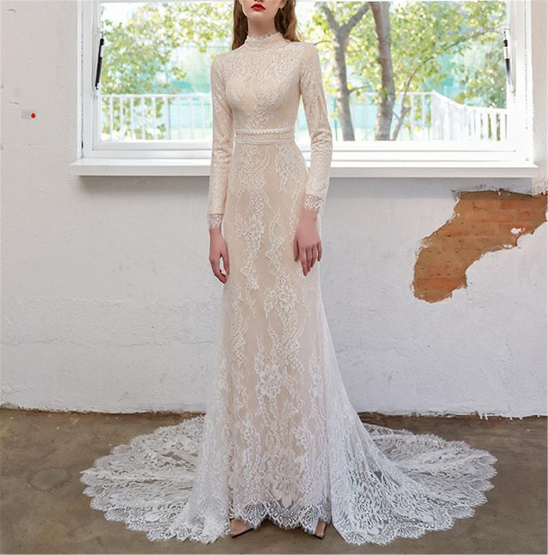 Exquisite Lace Gown