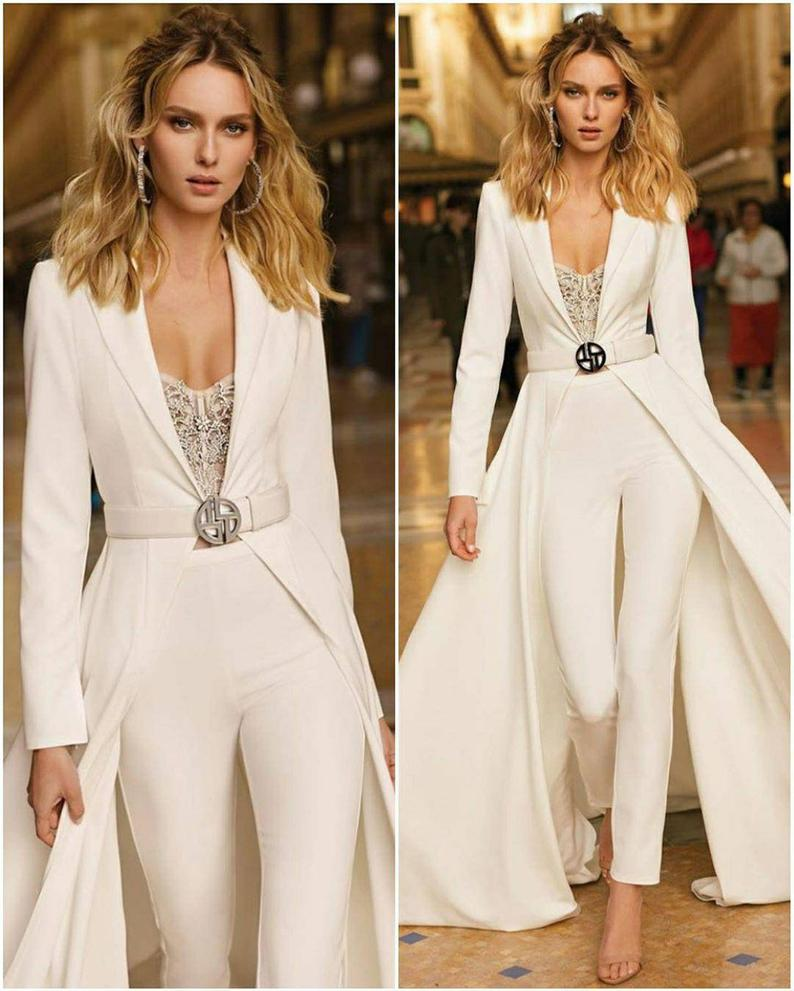 Wedding Gown with Pants