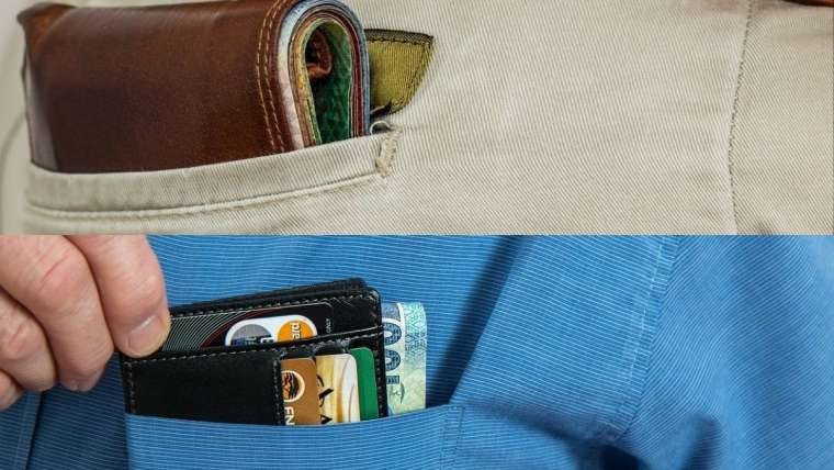 pickpocketed
